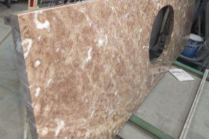 マロンエンペラドールライト 優しい色合いに魅せられて・・・洗面台が完成!